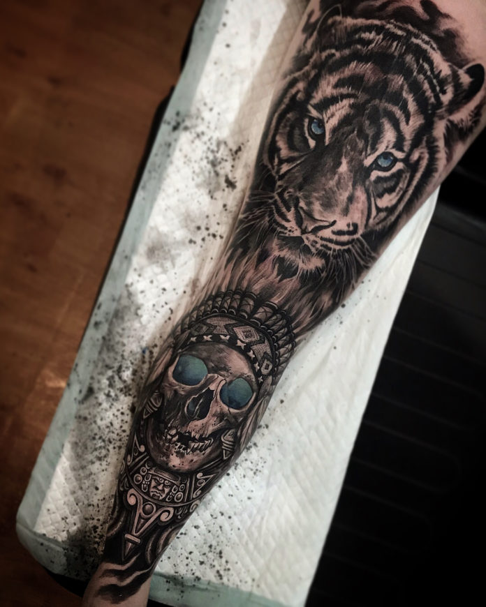 56 - Top 100 Tatouages Tigre pour Homme