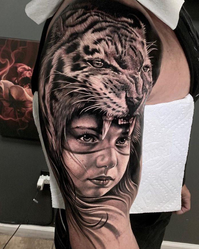 58468351 2271701023080788 4511764231171772908 n - Top 100 Tatouages Tigre pour Homme