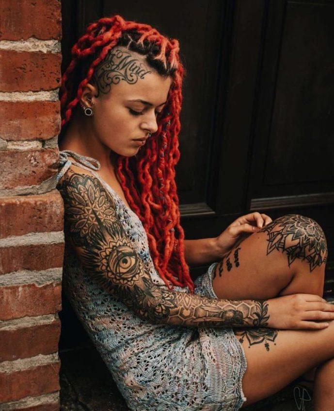 61 10 e1574132070558 - Top 100 Tatouages Bras Complet pour Femme