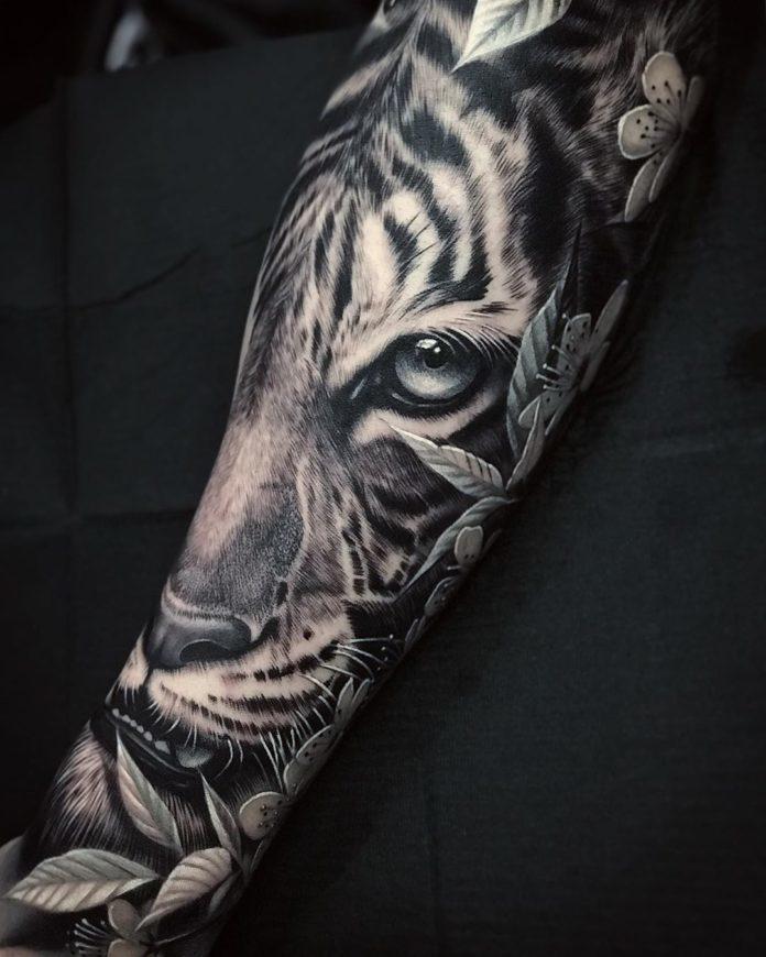 Top 100 Tatouages Tigre Pour Homme Tatouez