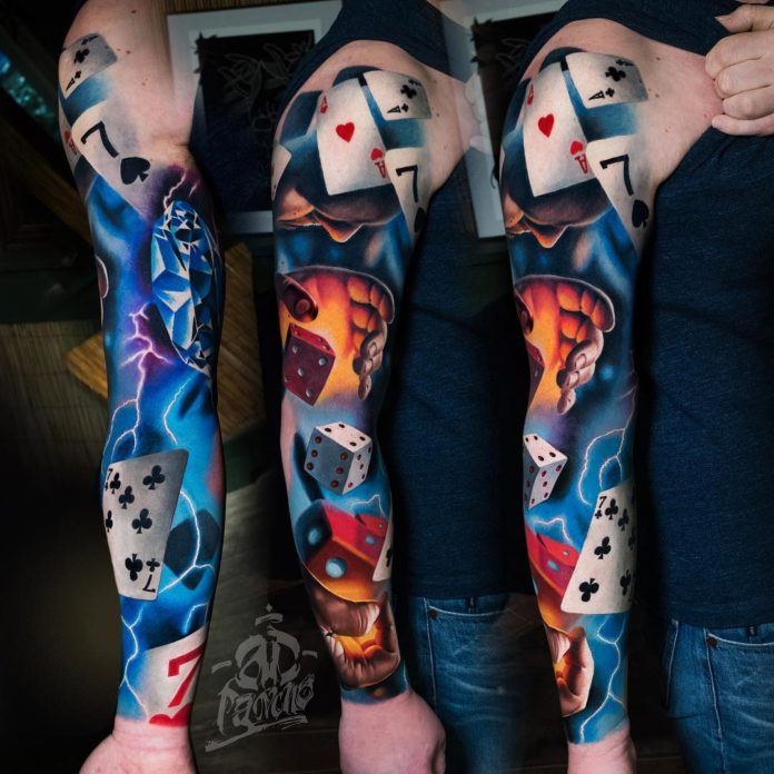 64 8 - 150 Tatouages Bras Complet pour Homme