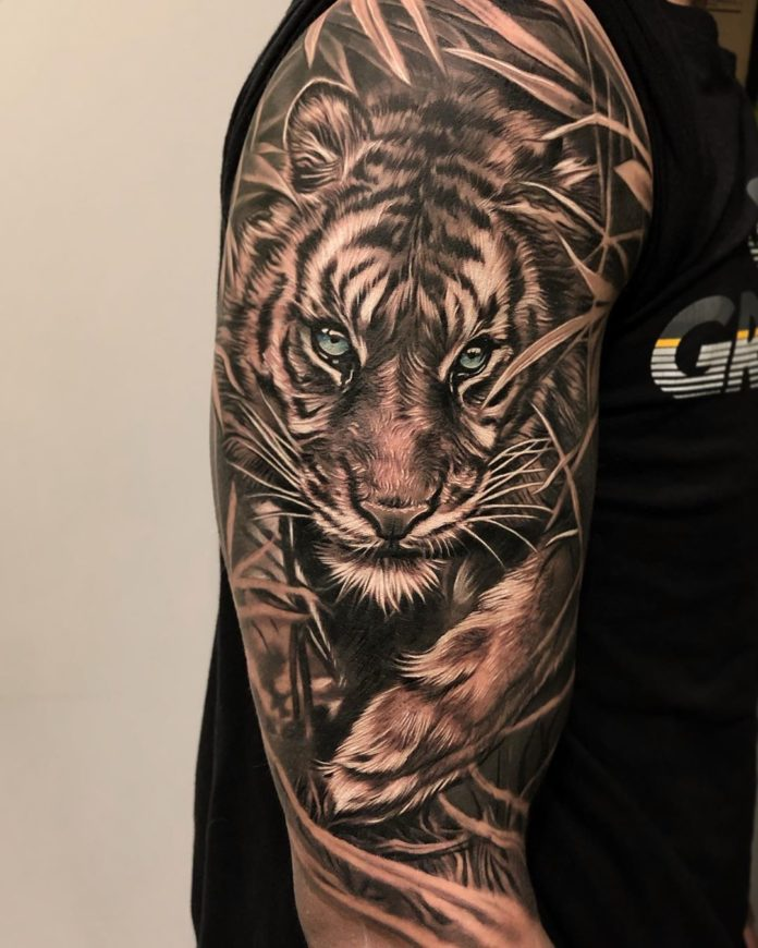 65498936 149883812830830 2111499062053951175 n - Top 100 Tatouages Tigre pour Homme
