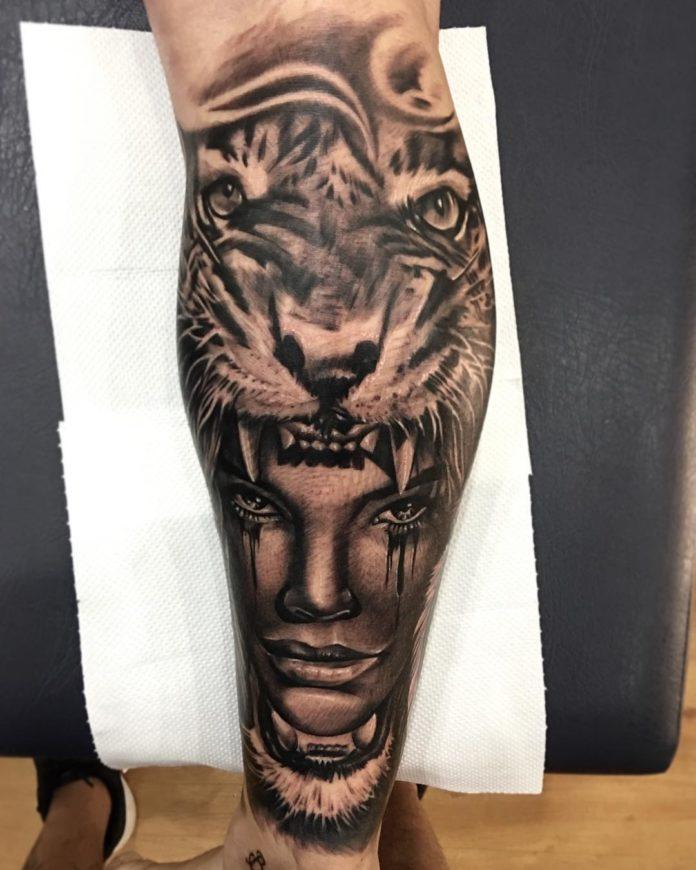 66 - Top 100 Tatouages Tigre pour Homme