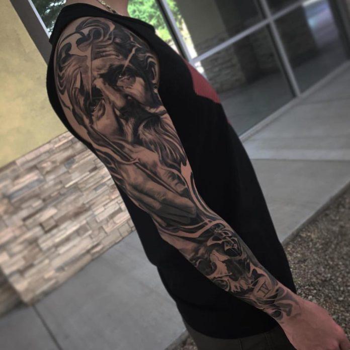 68 9 - 150 Tatouages Bras Complet pour Homme