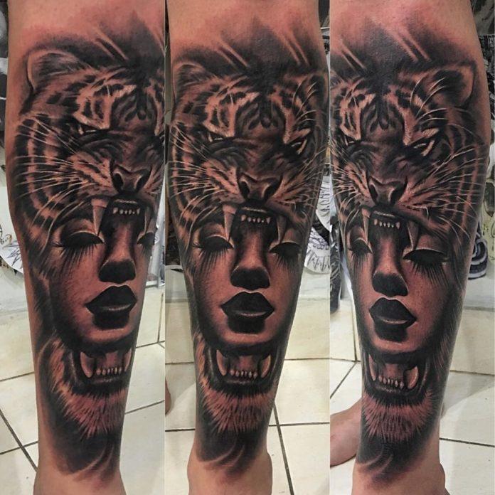 69 1 - Top 100 Tatouages Tigre pour Homme