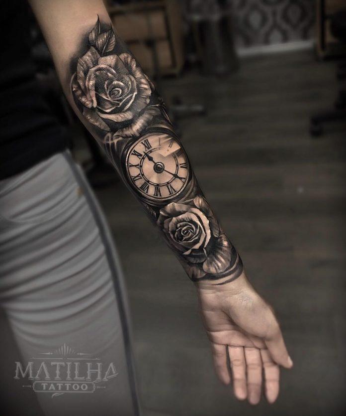 7 2 - 100 Magnifiques Tatouages Avant Bras pour Femme