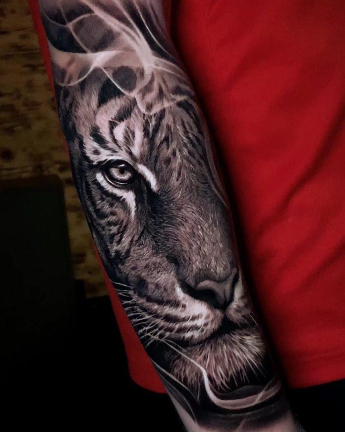 72 1 - Top 100 Tatouages Tigre pour Homme
