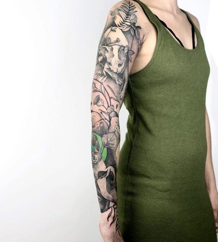 72 12 - Top 100 Tatouages Bras Complet pour Femme