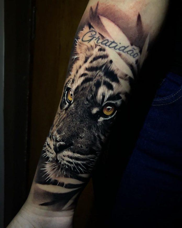 79 1 - Top 100 Tatouages Tigre pour Homme