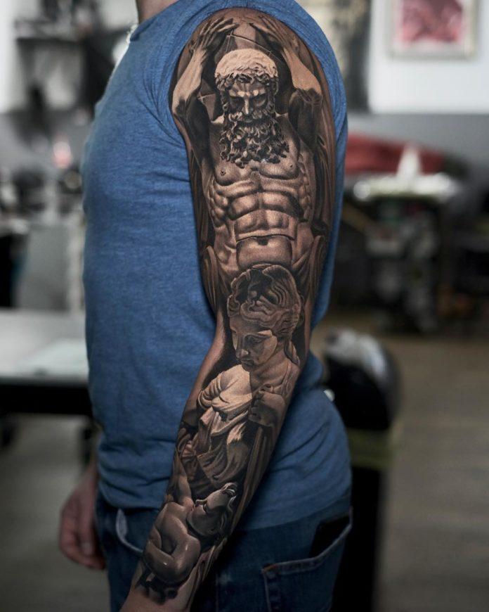 83 8 - 150 Tatouages Bras Complet pour Homme
