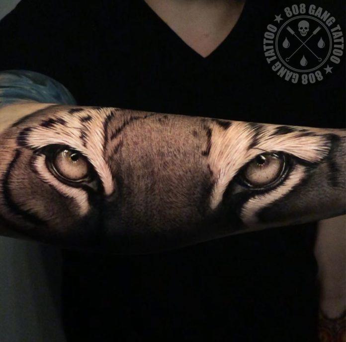 88 1 - Top 100 Tatouages Tigre pour Homme