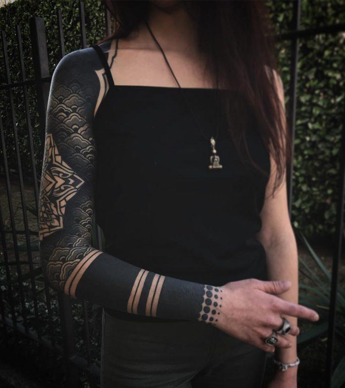 94 12 - Top 100 Tatouages Bras Complet pour Femme