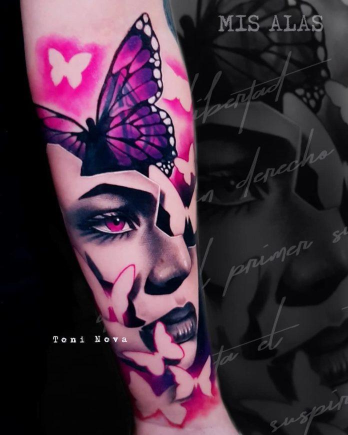 96 new - 100 Magnifiques Tatouages Avant Bras pour Femme