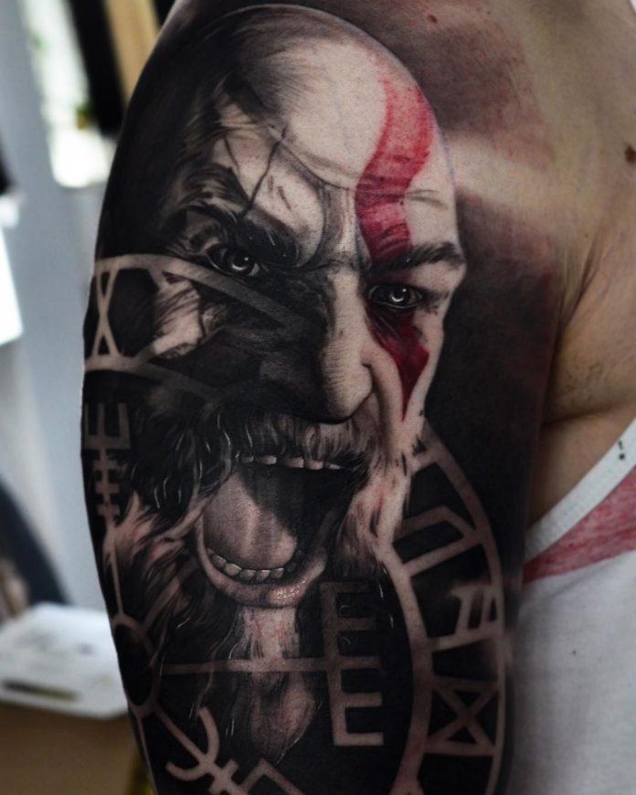 99 7 - 156 Incroyables Tatouages Épaule pour Homme