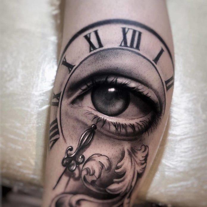 B0yys5AHZhF - 100 Tatouages d'Horloge pour Homme