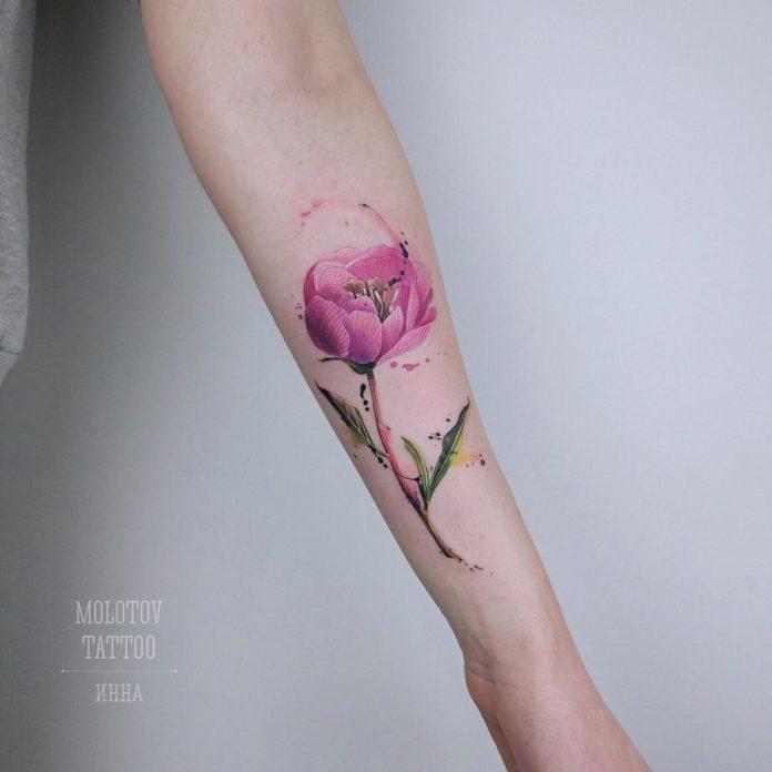 10 3 - Idées de Tatouage Fleur pour Femme (100 photos)