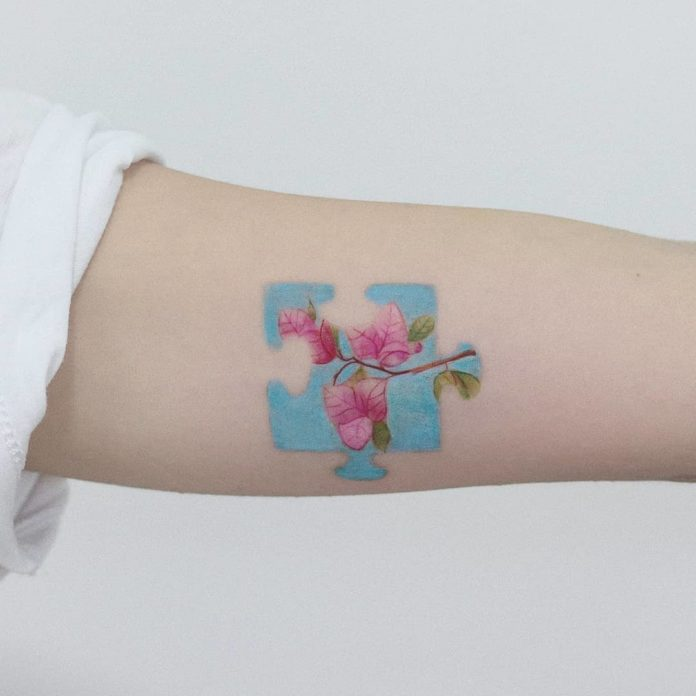 100 3 - Idées de Tatouage Fleur pour Femme (100 photos)