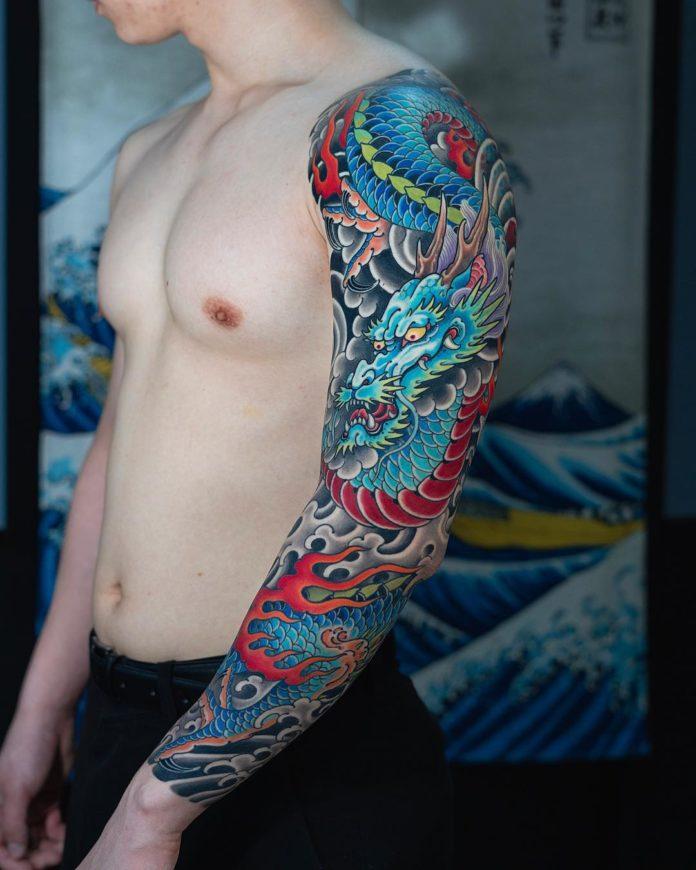 103 - 150 Tatouages Bras Complet pour Homme