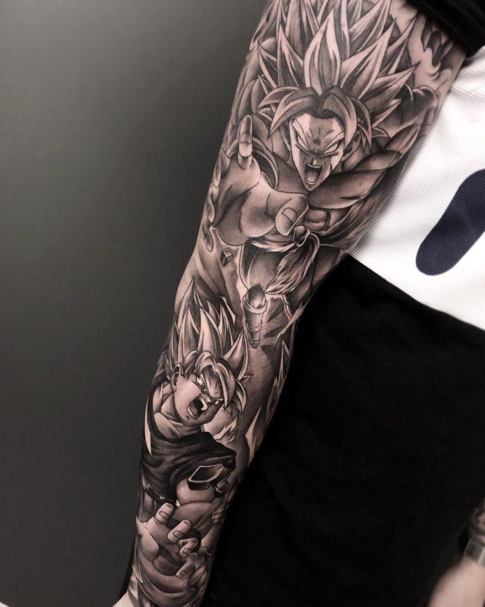 114 - 150 Tatouages Bras Complet pour Homme