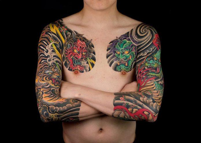 116 - 150 Tatouages Bras Complet pour Homme