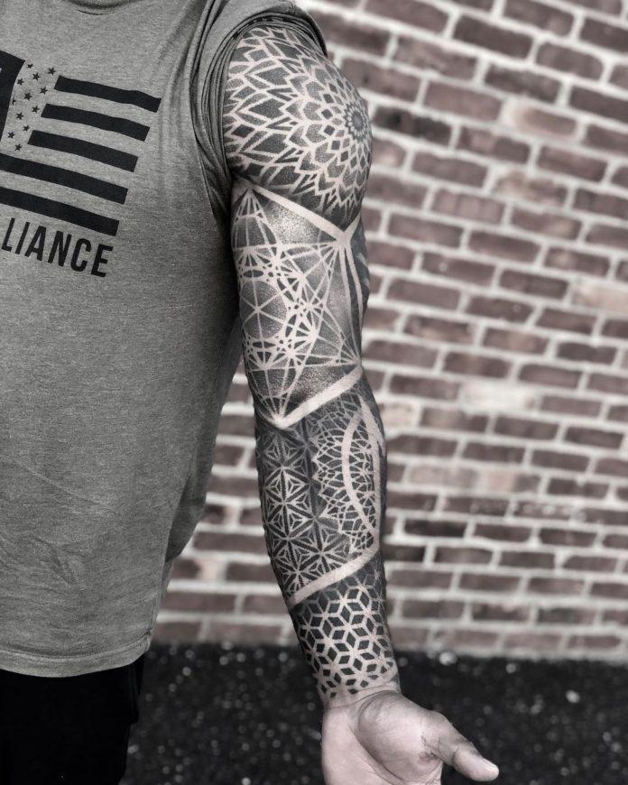 125 - 150 Tatouages Bras Complet pour Homme
