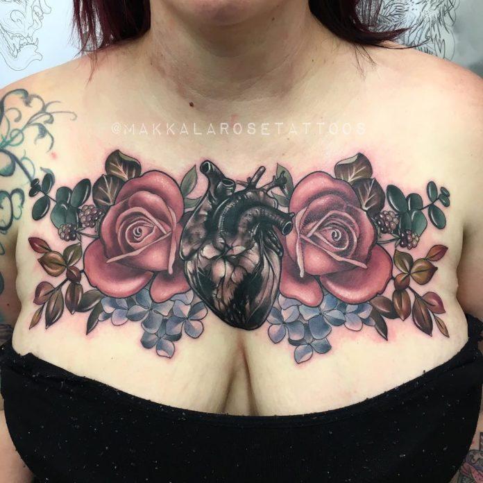 13 5 - 100 des plus beaux Tatouages Coeur pour Femme