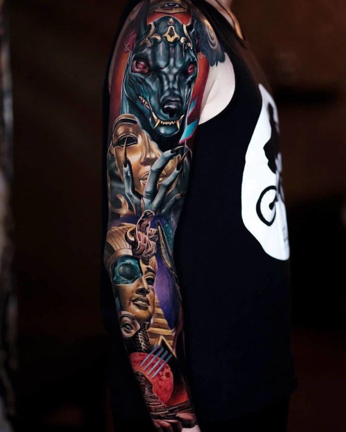 150  - 150 Tatouages Bras Complet pour Homme