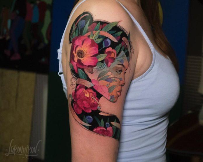 17 new 1 - Idées de Tatouage Fleur pour Femme (100 photos)