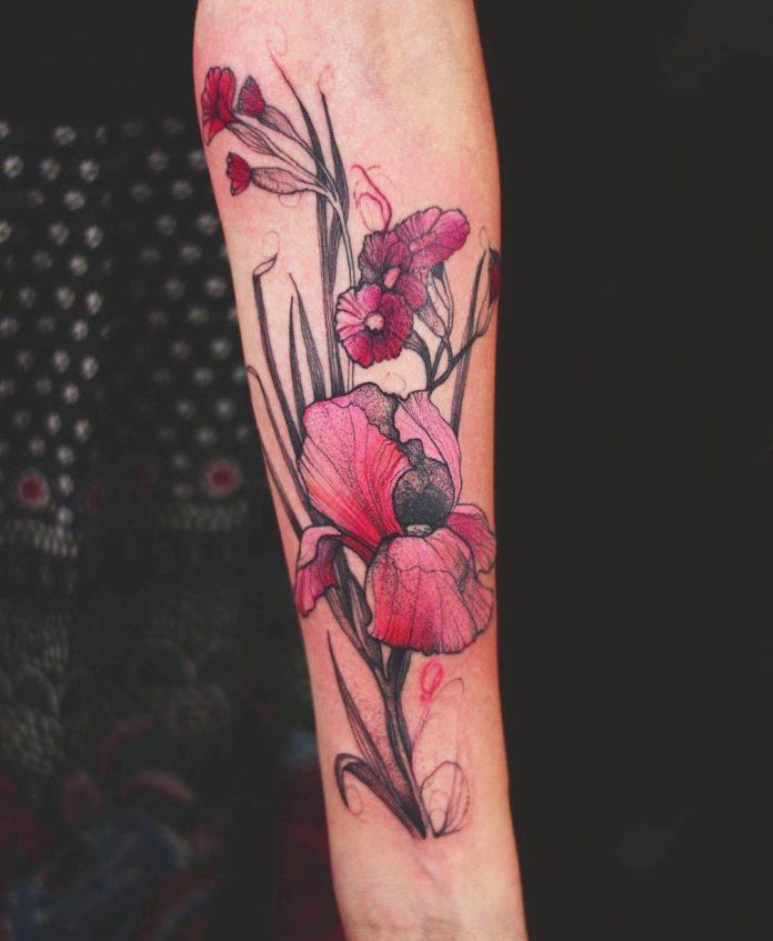 2 3 - Idées de Tatouage Fleur pour Femme (100 photos)
