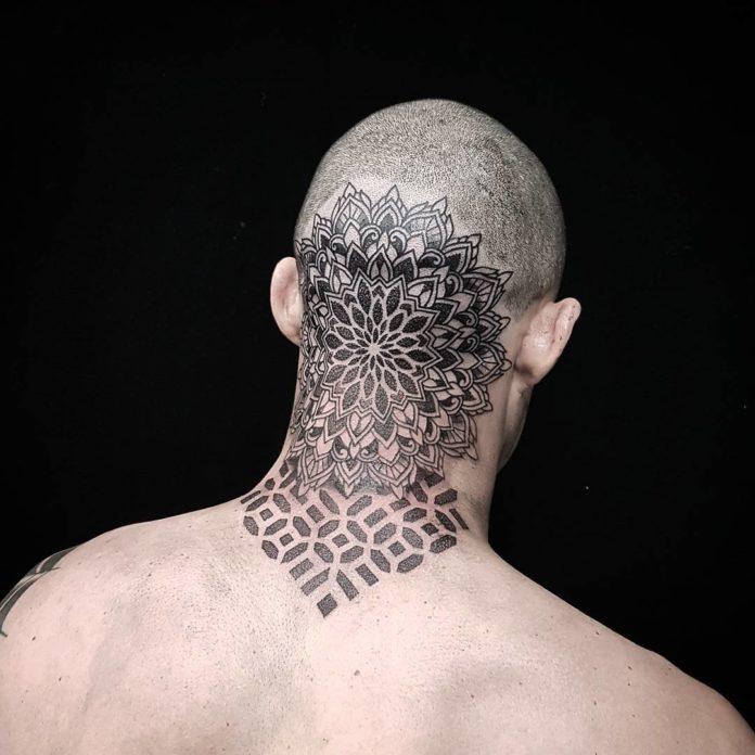 2 7 - Tatouage Cou pour Homme (100 photos)