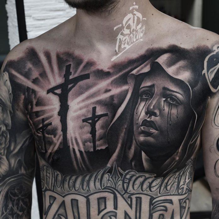 27 2 - 100 Tatouages Torse Homme Inspirants