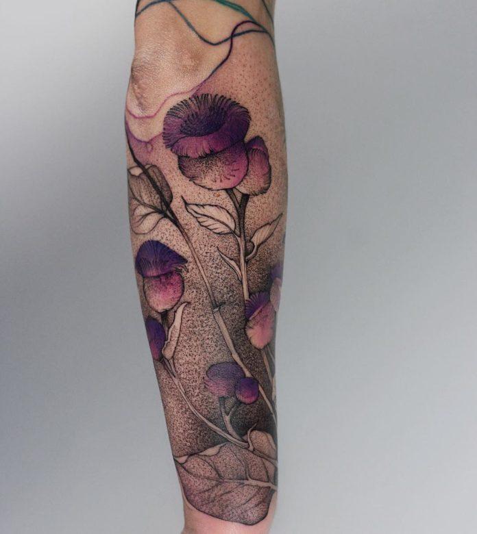 3 3 - Idées de Tatouage Fleur pour Femme (100 photos)