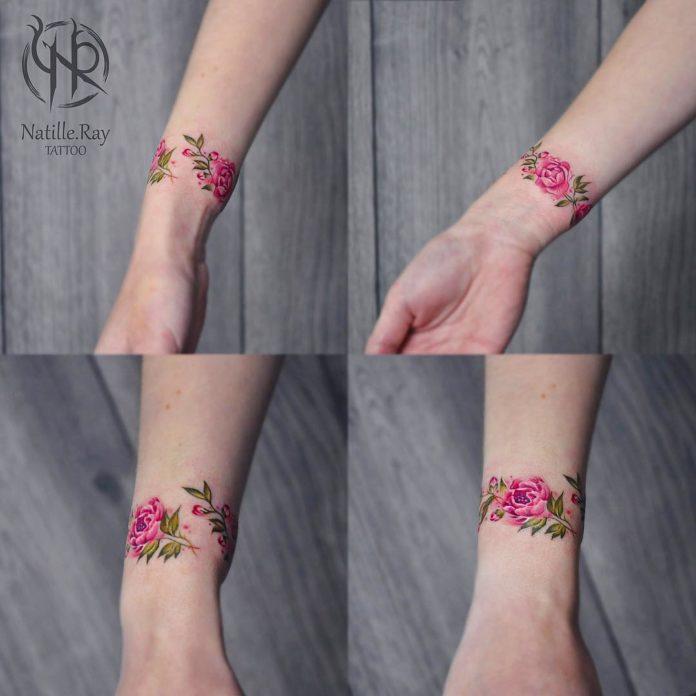 3 8 - 100 idées de Tatouages Bracelet pour Femme