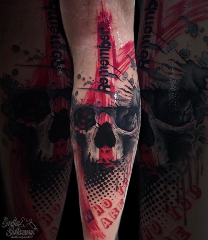 34 1 - Top 100 Tatouage Mollet Homme