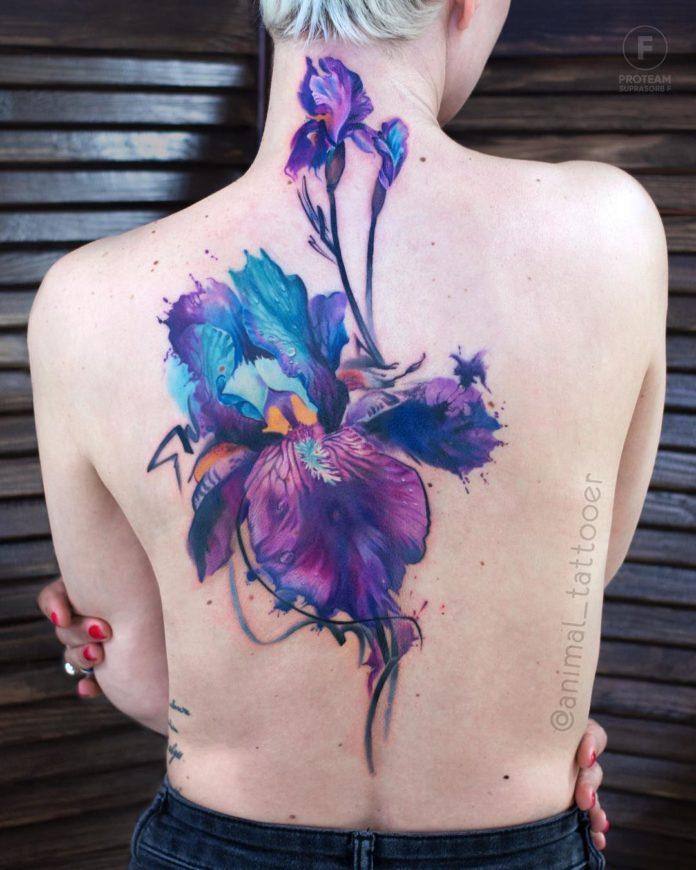 34 3 - Idées de Tatouage Fleur pour Femme (100 photos)