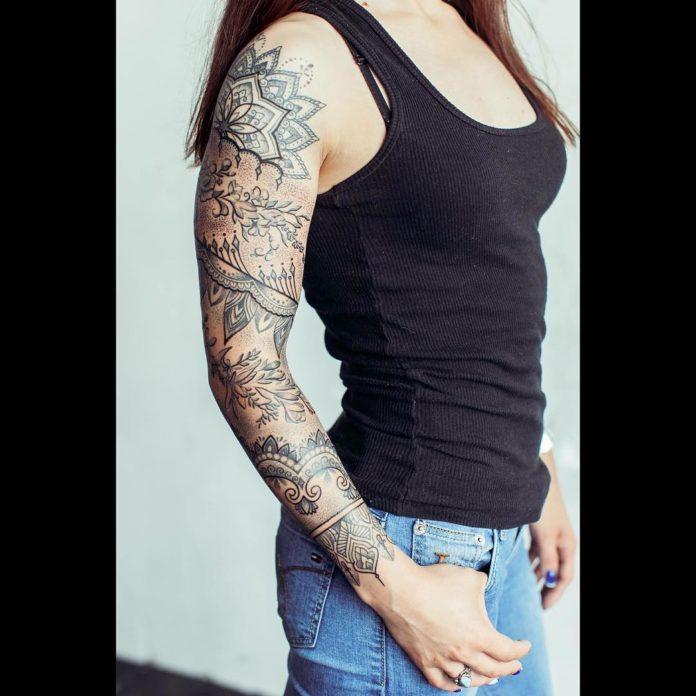 38 new 1 - Top 100 Tatouages Bras Complet pour Femme