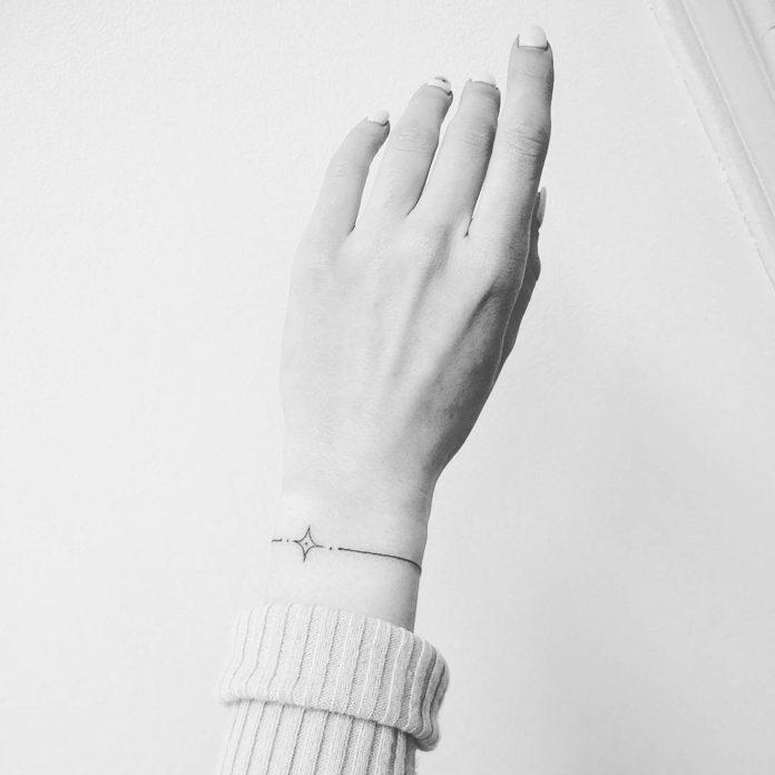 39 new 1 - 100 idées de Tatouages Bracelet pour Femme