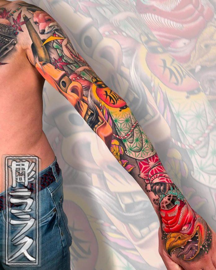 43 new - 150 Tatouages Bras Complet pour Homme