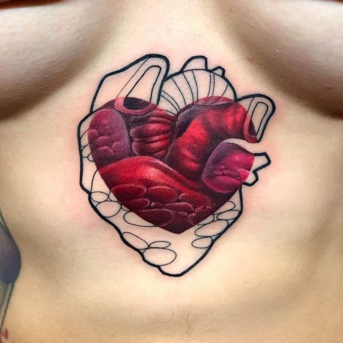 44 7 - 100 des plus beaux Tatouages Coeur pour Femme