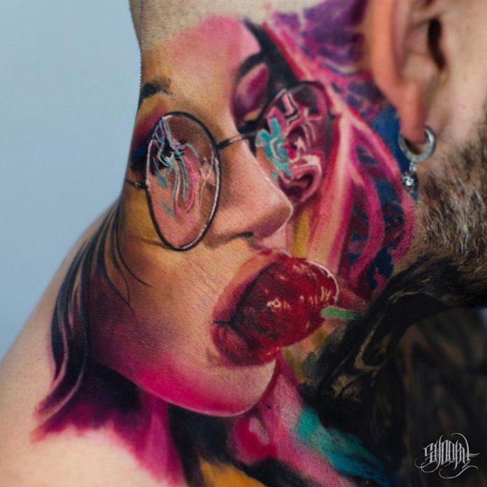 47 6 - Tatouage Cou pour Homme (100 photos)