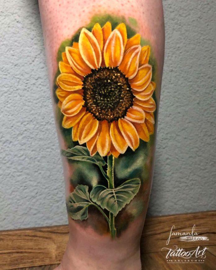 49 3 - Idées de Tatouage Fleur pour Femme (100 photos)