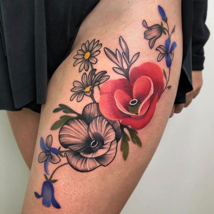 49933539 138331130526627 62927787297367021 n - Top 100 Tatouages Cuisse pour Femme