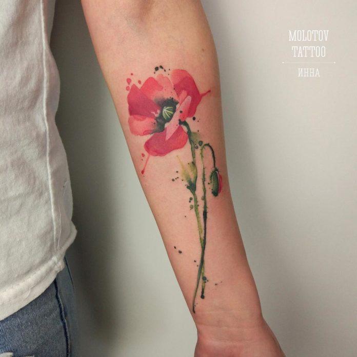 51 3 - Idées de Tatouage Fleur pour Femme (100 photos)