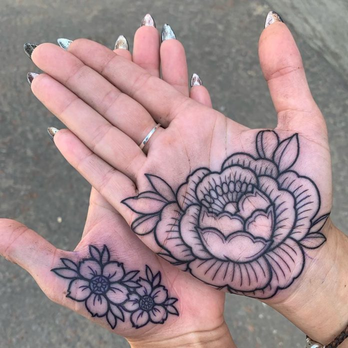55 new - Idées de Tatouage Fleur pour Femme (100 photos)