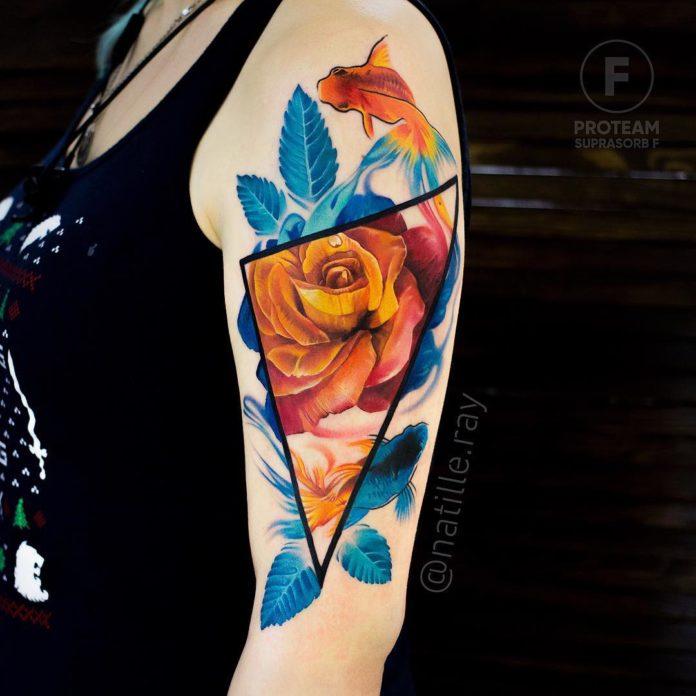 59 3 - Idées de Tatouage Fleur pour Femme (100 photos)