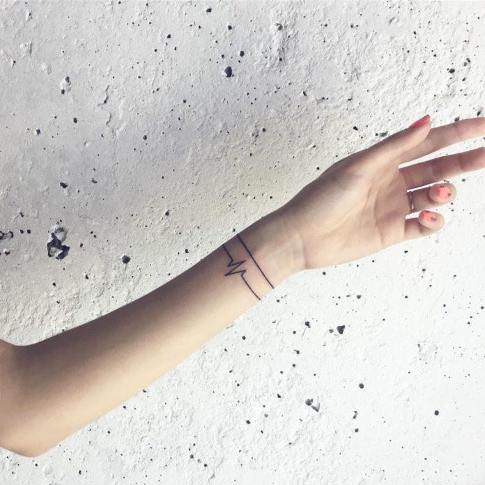 59 new 4 - 100 idées de Tatouages Bracelet pour Femme