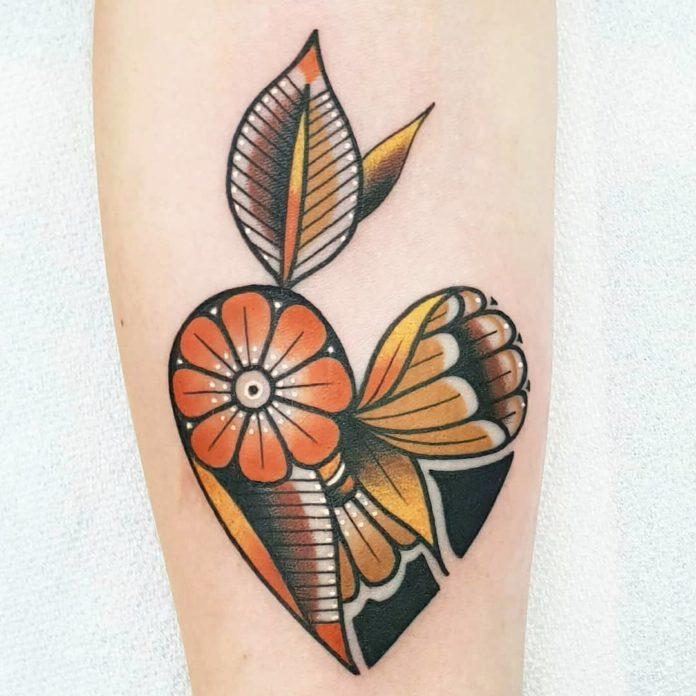 61 5 - 100 des plus beaux Tatouages Coeur pour Femme
