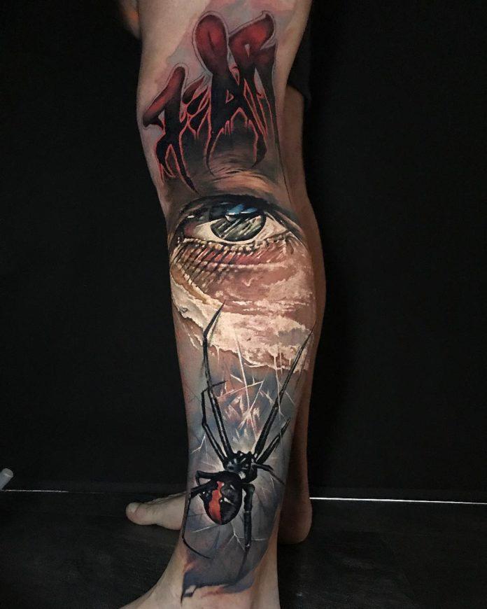 63 1 - Top 100 Tatouage Mollet Homme