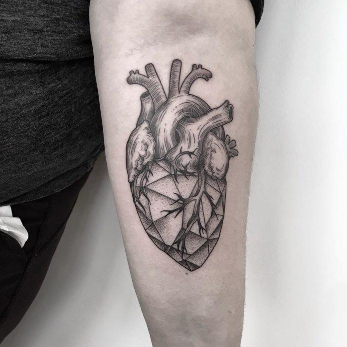 65 6 - 100 des plus beaux Tatouages Coeur pour Femme