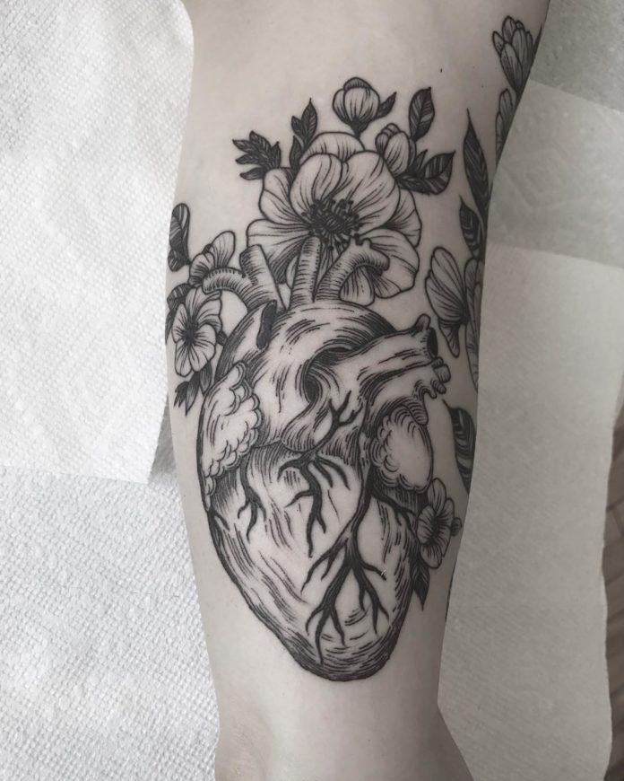 66 5 - 100 des plus beaux Tatouages Coeur pour Femme